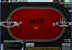 Aced Poker Table