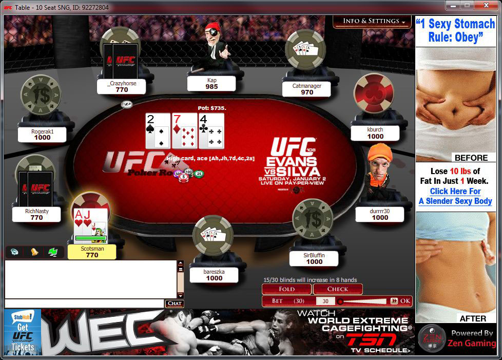play ufc games online free texans games online